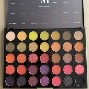 BNIB Morphe 35M Boss Mood